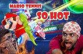 [HINDI] Ashish aur Santosh ne khela Mario Tennis | Kaun khaega zyada wasabi?