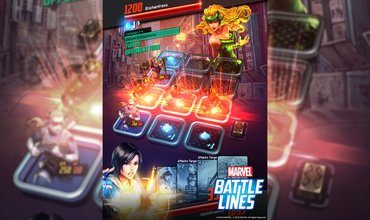 Strategy Card Game Called 'Marvel Battle Lines' Launches On October 24