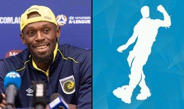 Usain Bolt Did A Fortnite Dance To Celebrate His Football Goal