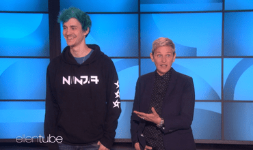 Ellen DeGeneres Plays Some Fortnite With Ninja On The Show Named After Her