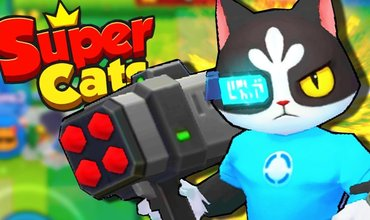 Super Cats is a fun battle arena filled with cats
