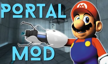Modder created a whole new Portal game from Super Mario 64