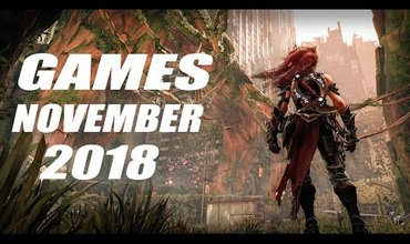 Some Anticipated New Games Coming This November