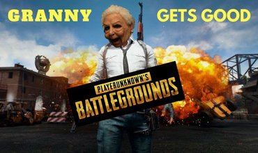 A Granny Wins Chicken Dinner In PUBG For The First Time