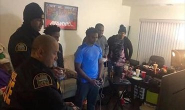 Police End Up Playing Fighting Games With Suspects After Receiving A Noise Complain