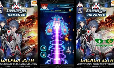 Galaga Revenge Is Now Available On Android And iOS