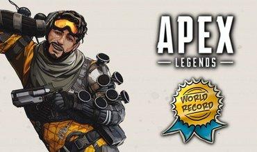 Console Player Sets New Apex Legends World Record For Solo Kills