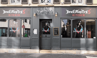 A Restaurant Themed After Devil May Cry 5 Appears In France