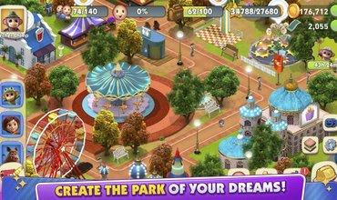 Build Your Dream Theme Park In Wonder Park Magic Rides On Mobile