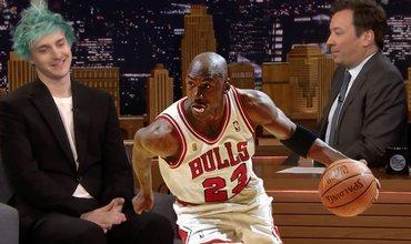 Ninja Was Compared To Michael Jordan On Jimmy Fallon's Show