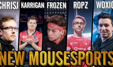 CS:GO frozen And His Determination To Make mousesport A Top Team