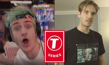Ninja Dropped Sarcastic Comments For T-Series After T-Series Has Won Over Pew