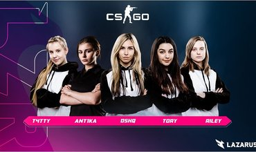 DreamsHack Hosts The All-Female CS: GO Tournament With $100,000 Prize Pool