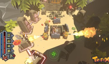 Trifox: A New Foxy Adventure Which Will Debut At Gamescom