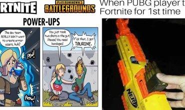 Ten Most Hilarious Memes About The PUBG vs Fortnite Debate