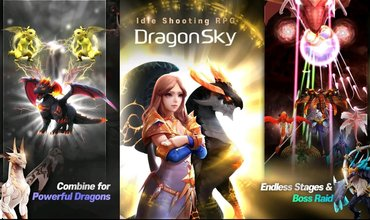 DragonSky, A New Idle Shooter Is Available For Pre-registration