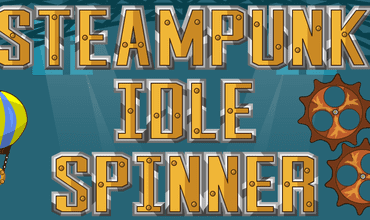 Develop Your Own Complex Machinery In Steampunk Idle Spinner