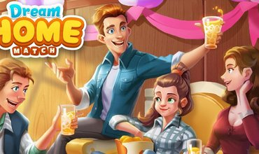 New Match-3 Puzzle Game Dream Home Match Allows You To Renovate A House, Now Available For Mobile