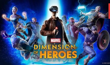 Become A Marvel Superhero In MARVEL Dimension of Heroes, A New VR Game Available Now