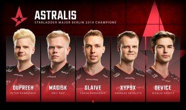 3 Consecutive Majors Winner, Astralis Makes History At Berlin Major 2019