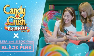 New Candy Crush Friends Saga Mode Promoted By K-Pop Superstars From BLACKPINK