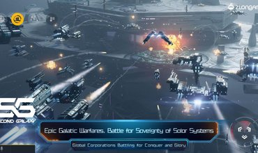 Massive Space MMO Second Galaxy Out Now For Mobile
