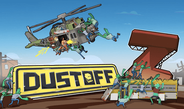 Zombie-Themed Helicoper Action Game 'Dustoff Z' Enters Open Beta