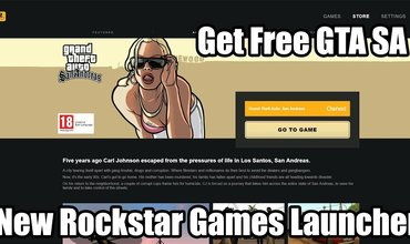 Rockstar Rolls Out Its Own PC Games Launcher, Along With Free Copies Of GTA San Andreas