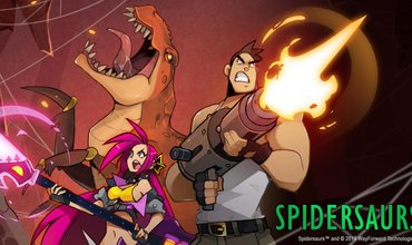 New 2D Run And Gun Action Game Spidersaurs Released For Apple Arcade