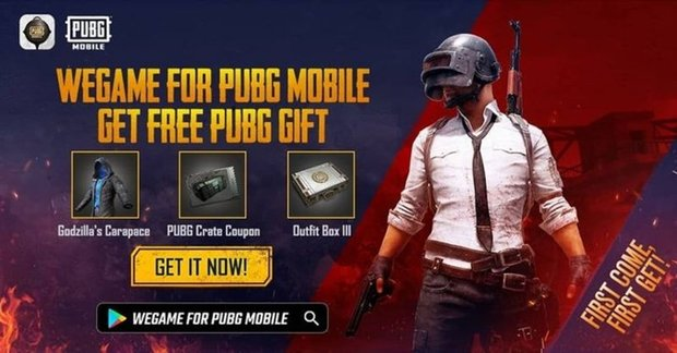 New Exclusive PUBG Mobile Godzilla Outfit Available to