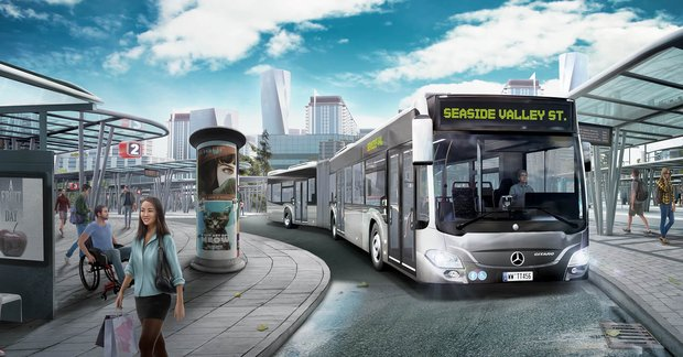 New Mercedes Benz >> Bus Simulator 18 Is Coming To PS4 And Xbox One This September - GuruGamer.com