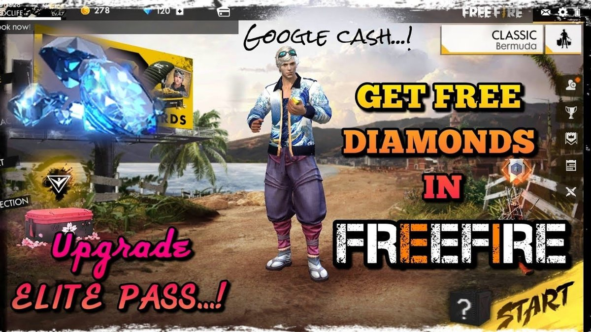 Free Fire Diamond Hack Here Are 5 Ways To Earn Free Fire Free Diamond