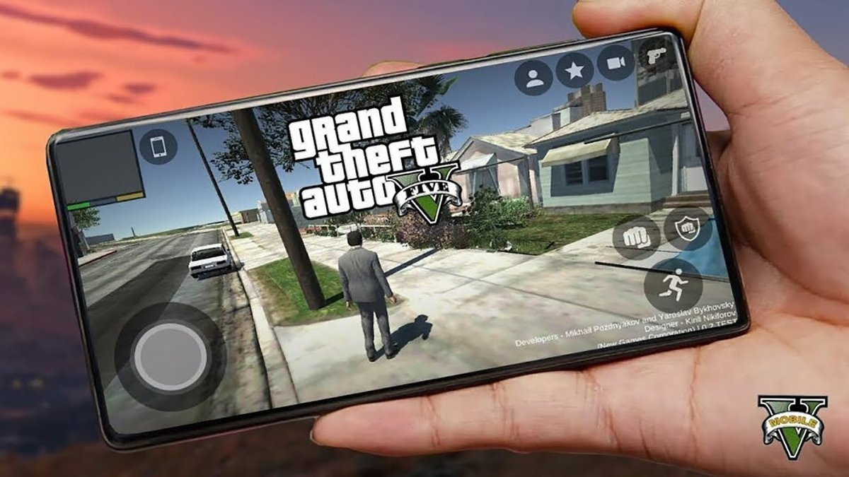 fans of gta 5 made a mobile version 7d33 - Free Game Cheats
