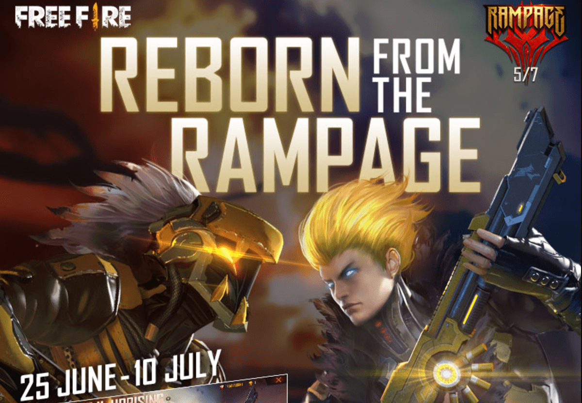 Free Fire Rampage Event Factions Daily Mission Prizes Tokens
