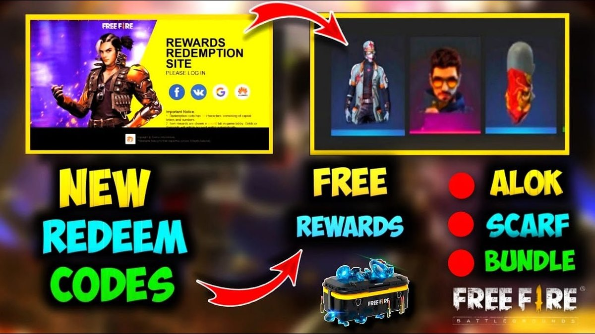 Free Fire Redeem Code Generator Get Unlimited Codes And Free Items
