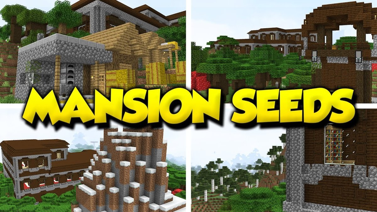 Here Are The Best Minecraft Seeds With Mansions You Can Ever Find