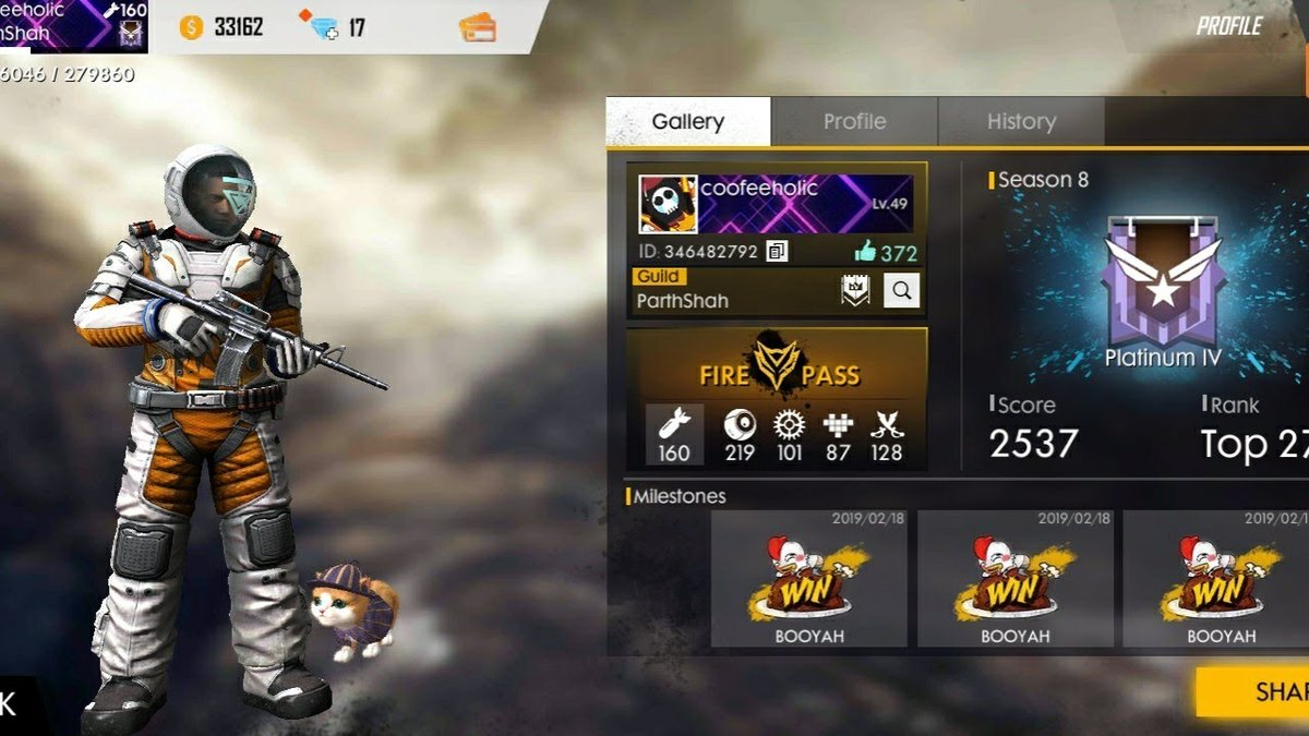 Everything About Free Fire Id And Password 2020 Update