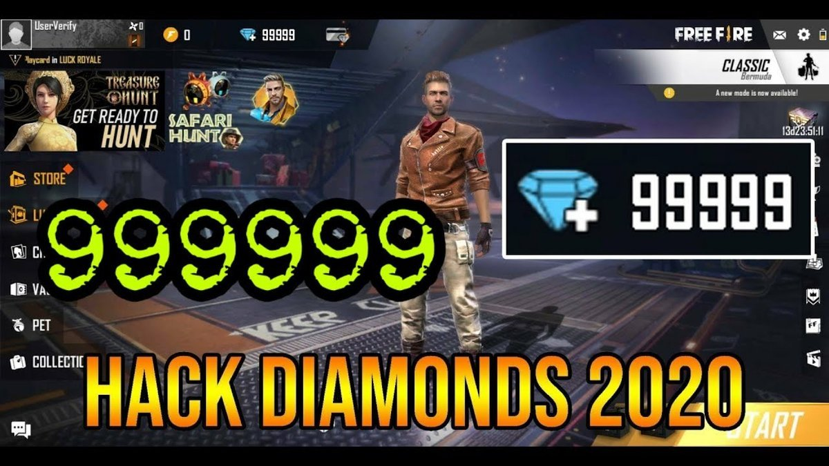 Free Fire Diamond Hack New Version 2020 How To Get Unlimited Free Diamonds