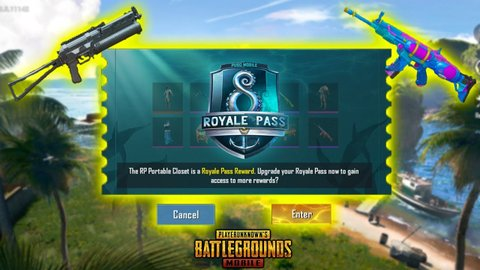 Pubg Mobile Season 8 Royale Pass Power Of The Ocean Updates Leaked