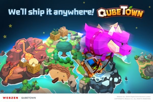 QubeTown - The Fantasy City Builder Is Now Available Worldwide