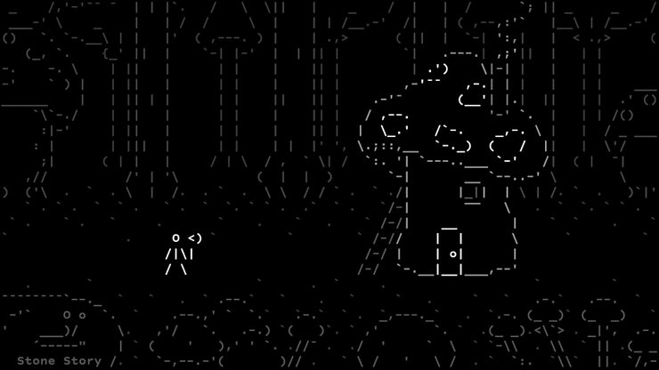 Stone Story - Unique ASCII Art-style RPG Out Now In Steam Early