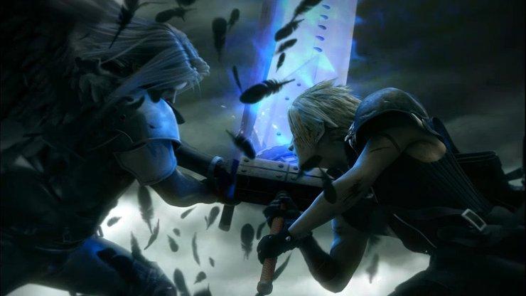 Final Fantasy Vii Advent Children Sephiroth Vs Clo