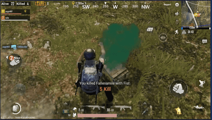 Pubg Punch Downed Player1
