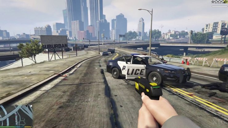 First Person Mode In Gta V Pc