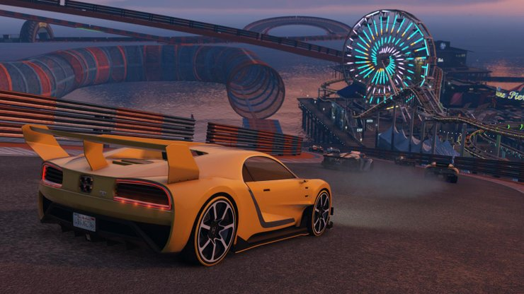 Gta V Stunt Race Event