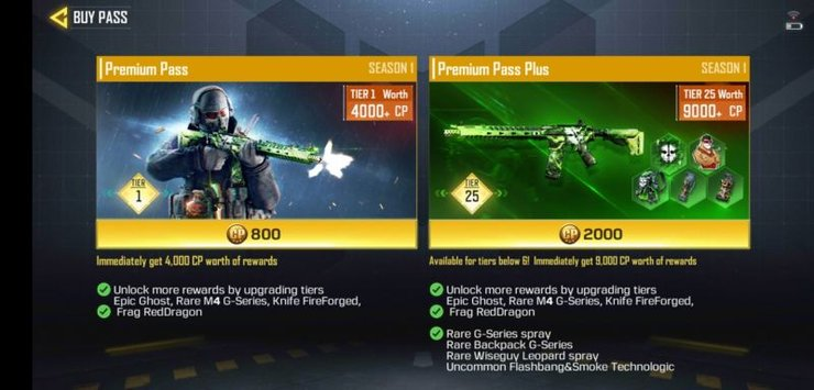 Call Of Duty Mobile Battle Pass Pricing And Benefits