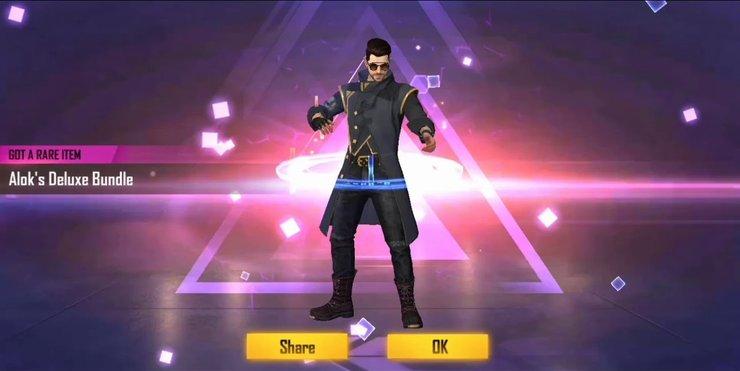 Free Fire Alok Character Bundle