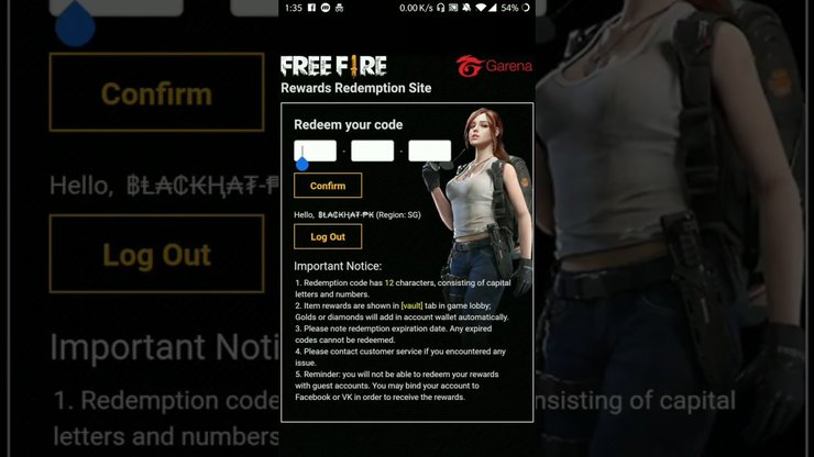Free Fire Redeem Code 2020 How To Get Free Redeem Code For Items