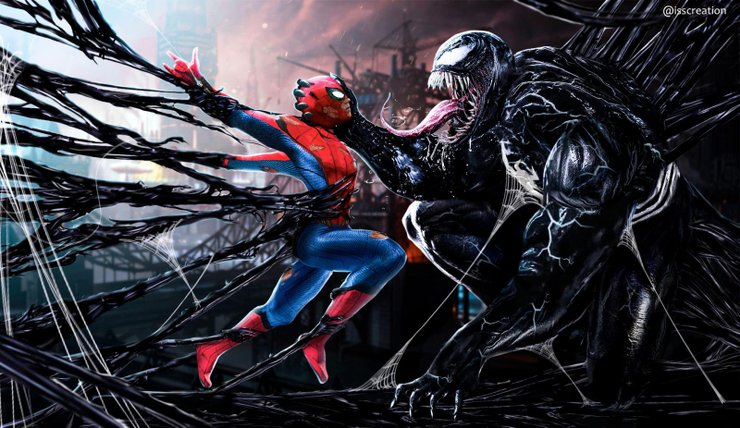Venom S Tom Hardy Teases Spider Man Crossover In Deleted Twitter Post