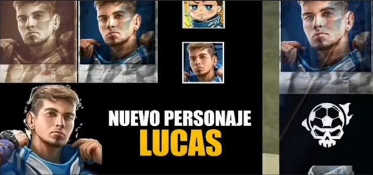 The first appearance of the model in the character of Lucas
